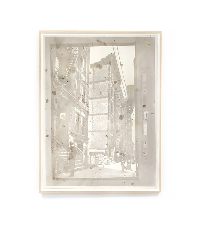 "Matthew Brandt ""Tenement Row Demolition Site"" by Matthew Brandt"