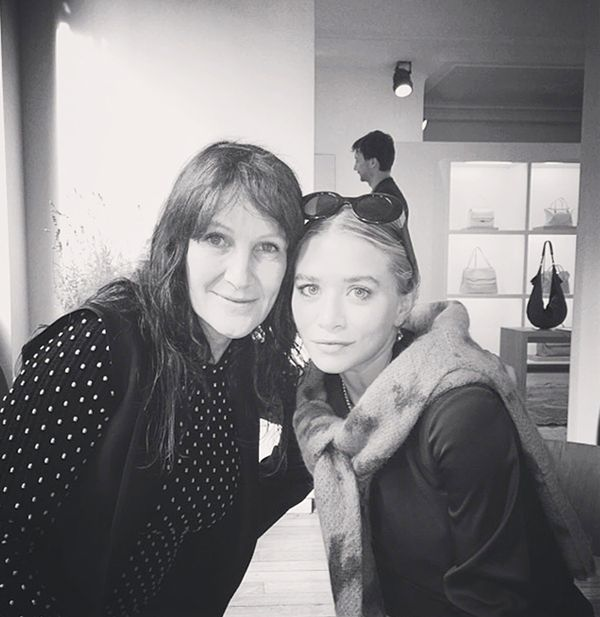 Ashley Olsen in Paris.