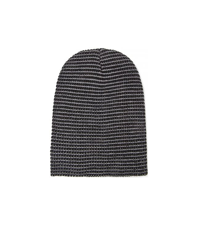 Forever 21 Texture Striped Beanie