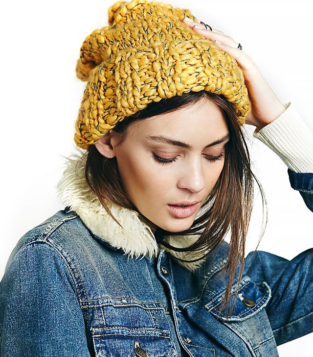 Free People Florence Cuff Beanie