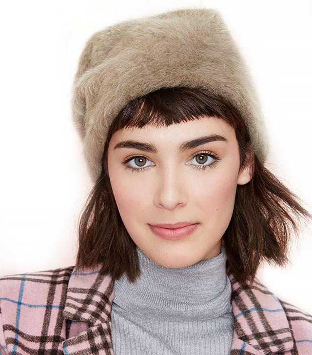 Hat Attack Leonore Angora Beanie