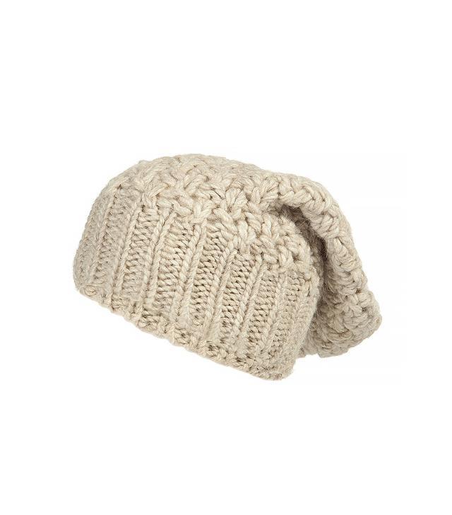 Jil Sander Navy Wool-Alpace Slouchy Hat