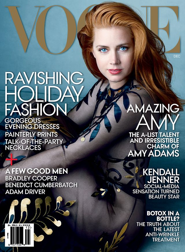 Amy Adams Looks Unreal on Her First Vogue Cover