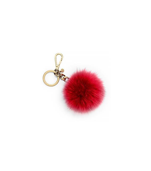 MICHAEL Michael Kors Fur Pom-Pom Keychain