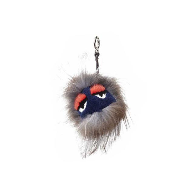 Fendi Sleepy Mink Buggy Monster Charm
