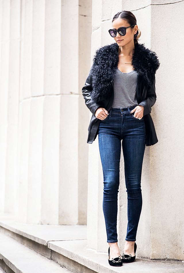Hate Holiday Dresses? How to Dress Up Your Jeans for Party Season