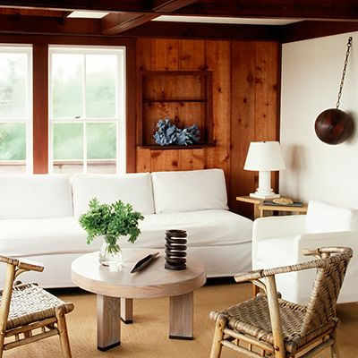 Get the Look: A Simply Rustic Sitting Room