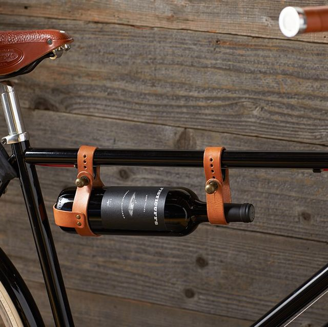 Williams-Sonoma Bicycle Leather Wine Holder