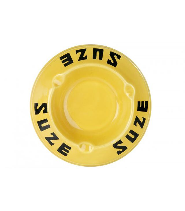Second Shout Out Vintage French Suze Porcelain Ashtray