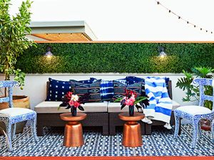 Before and After: A Celeb Hairstylist's Exotic Rooftop Remodel