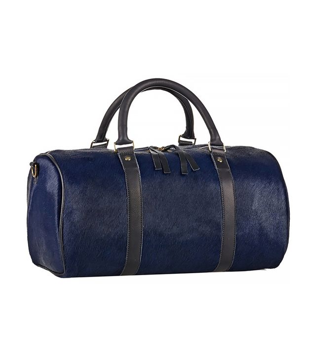 Clare Vivier Large Calf Hair Duffle Bag