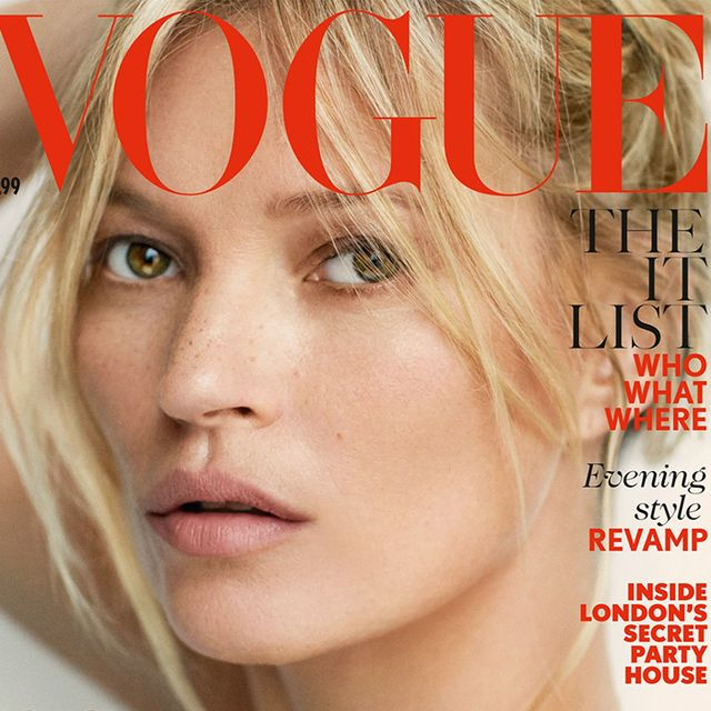 Can You Guess How Many Times Kate Moss Has Covered Vogue?