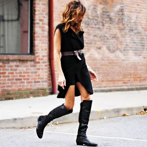 Over the Knee Boots Street Style