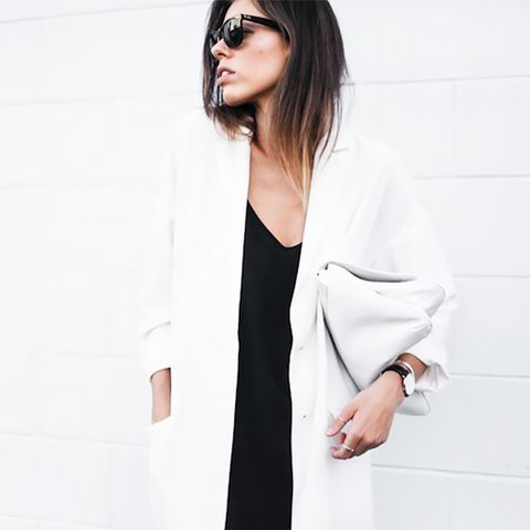 White Coat Street Style
