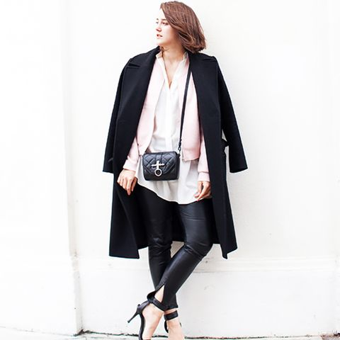 Layered Coat Street Style