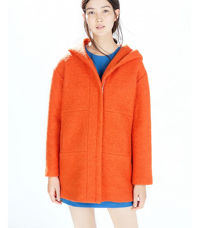 Zara Overcoat With Hood