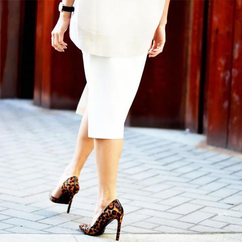 Leopard Heels Street Style