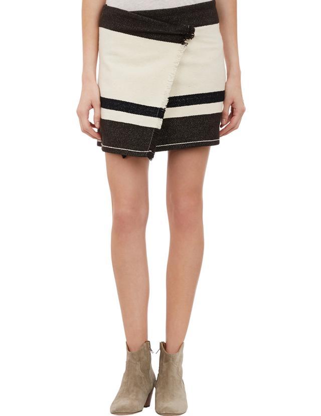 Isabel Marant Adelaide Blanket Wrap Skirt