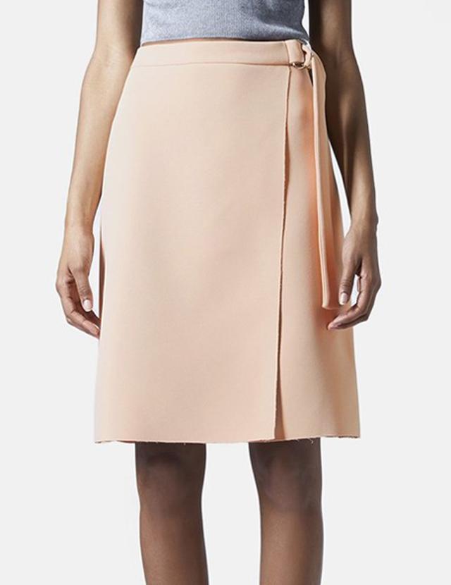 Topshop D-Ring Wrap Skirt