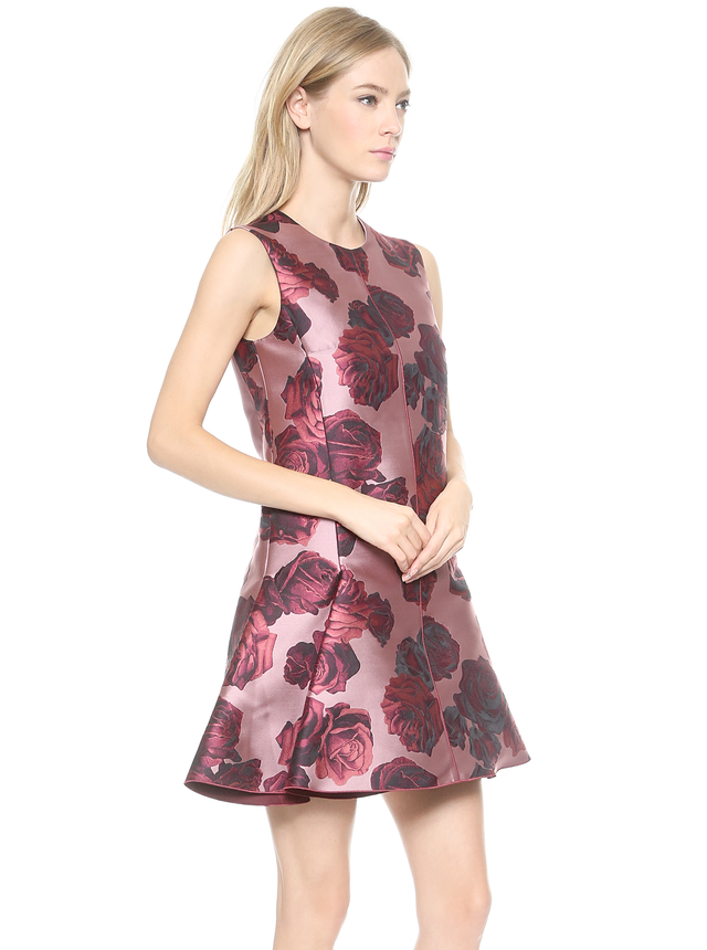 Giambattista Valli Sleeveless Floral Dress