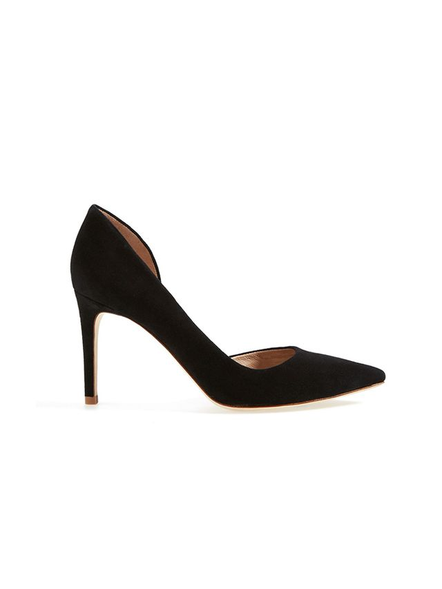Tory Burch Suede d'Orsay Pump