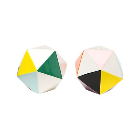 Kate Spade Saturday Technicolor Salt and Pepper Shaker