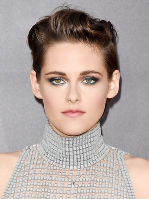 Kristen Stewart's Metallic Smoky Eye, Plus More Celeb