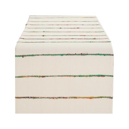 World Market Sari Slub Nomad Table Runner