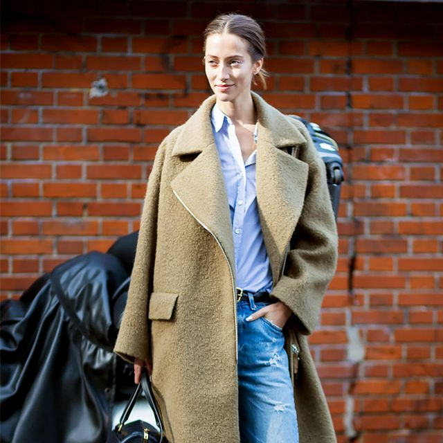 Tip of the Day: Pairing Your Long Coat and Boyfriend Jeans