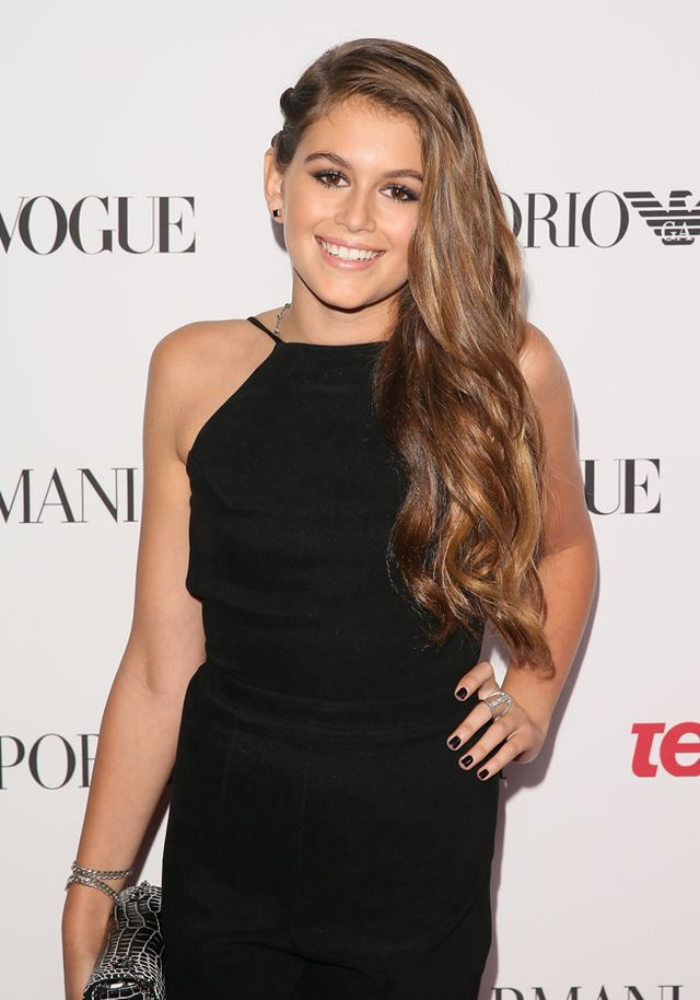 Kaia Gerber at Teen Vogue's 2014 Young Hollywood party  What do you think of Crawford's daughter's first magazine shoot? Tell us in the comments below!