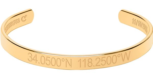Legend Engraved Bangle Bracelet