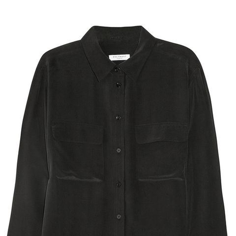 Signature Washed-Silk Shirt