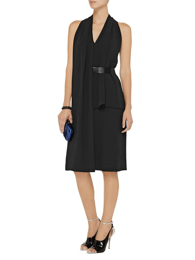 Alexander Wang Belted Silk Dress