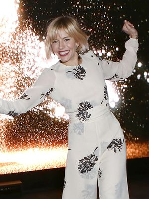 Sienna Miller is a One-Piece Wonder in Reformation