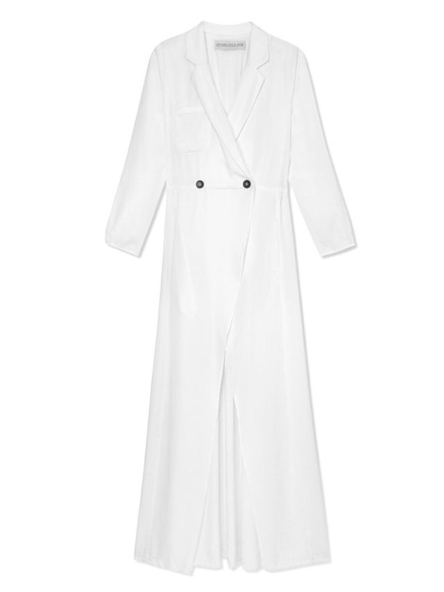 Stone Cold Fox White Boston Gown