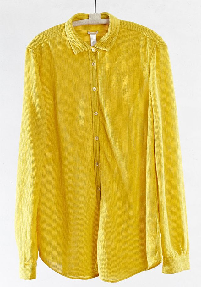 Massimo Alba Mustard Marge Shirt