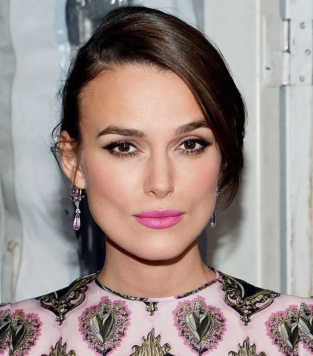 Keira Knightley's Lipstick is Hot Pink Perfection—Here's What She Used