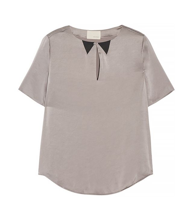 Band of Outsiders Satin Top