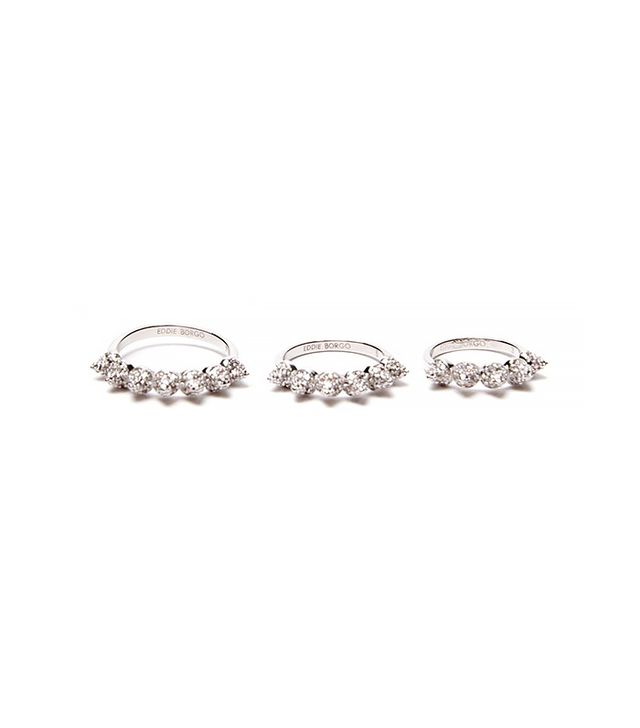 Eddie Borgo Eternity Cone Ring Set