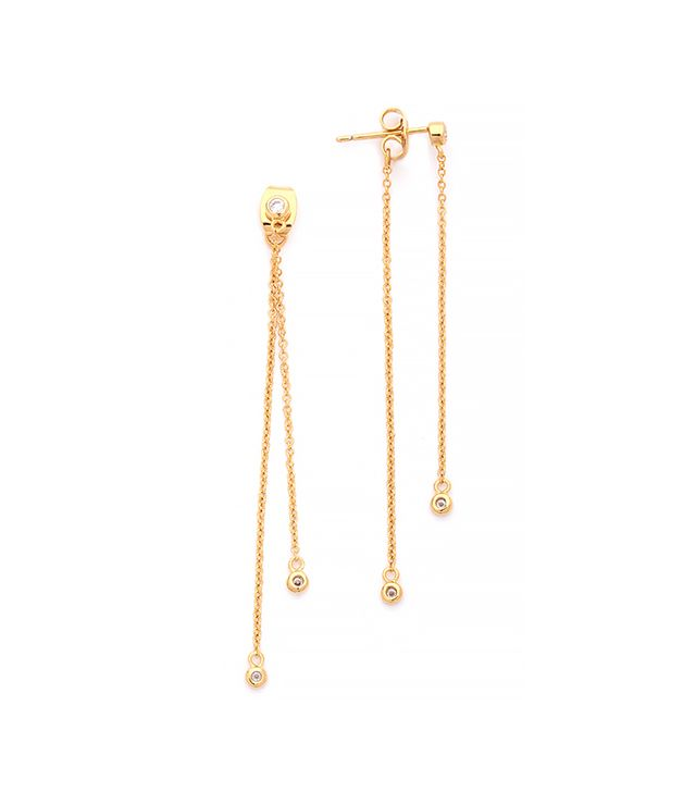 Gorjana Paige Double Drop Earrings