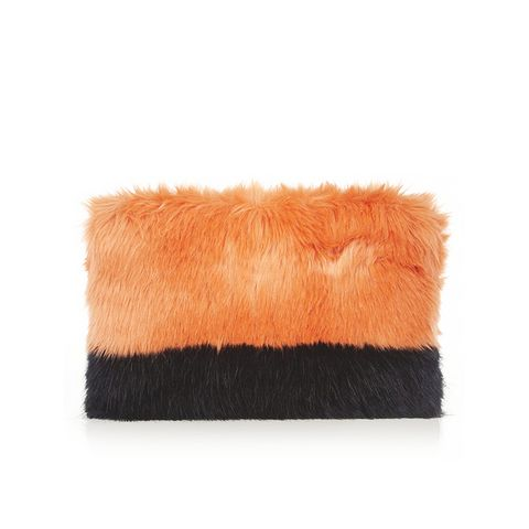 Pablo Faux Fur Clutch