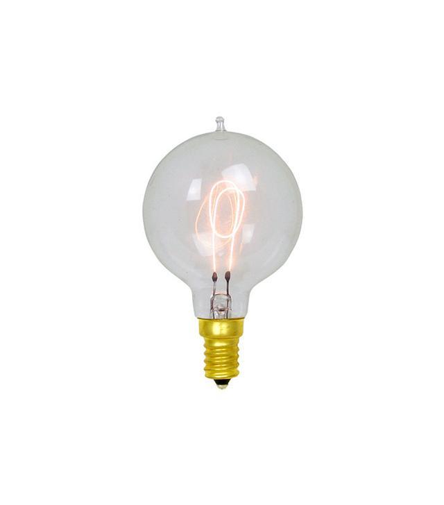 Rejuvenation 15W Carbon-Filament Small Globe Candelabra Bulb