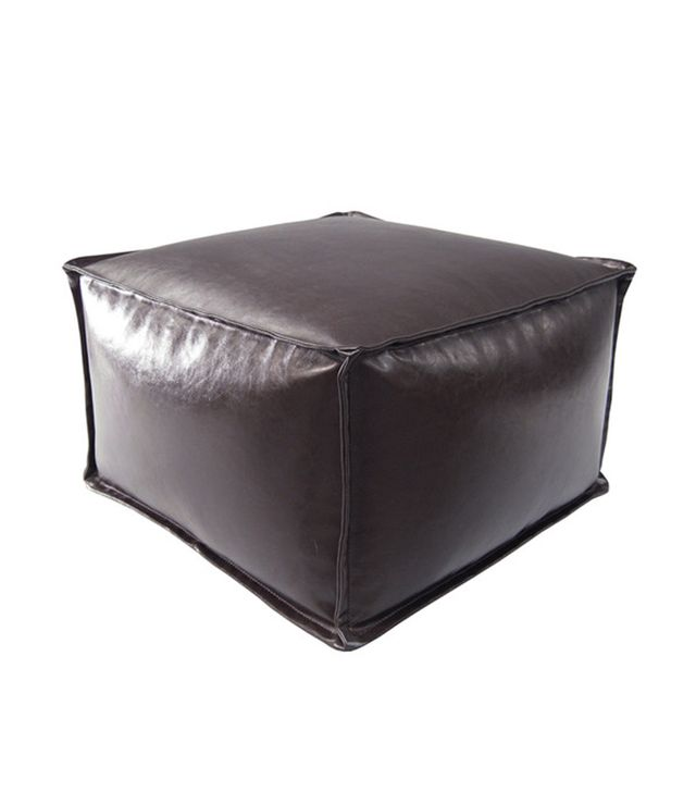 Madison Park Anaei Square Pouf Ottoman