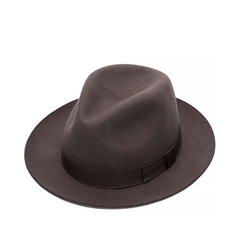 Grey Chepstow Wool Felt Hat