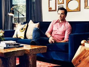 Inside Ian Harding's Handsome Canyon Hideaway