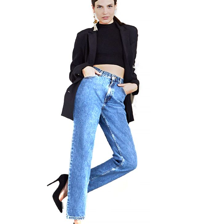 Reformation Reformation Mom Jeans in Worn Vintage
