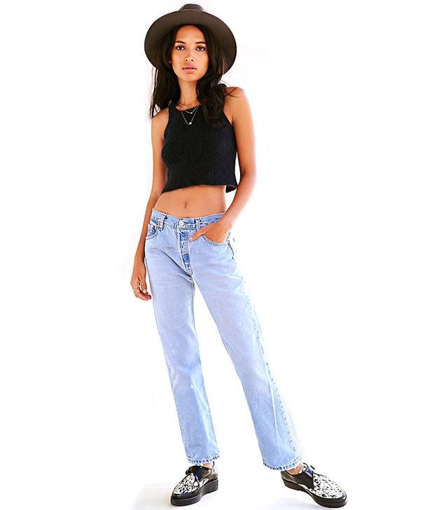 Levi's Urban Renewal Vintage Levi's 505 & 501 Jeans in Indigo