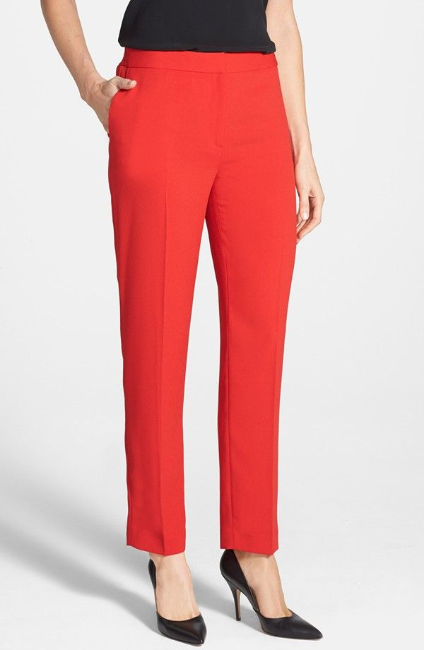Chaus Crepe Ankle Pants