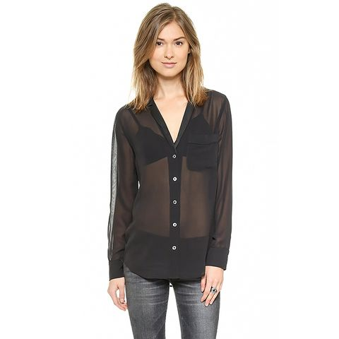 Keira Blouse with Contrast