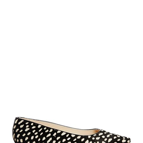 Brigitte Spot Pointed Shoes